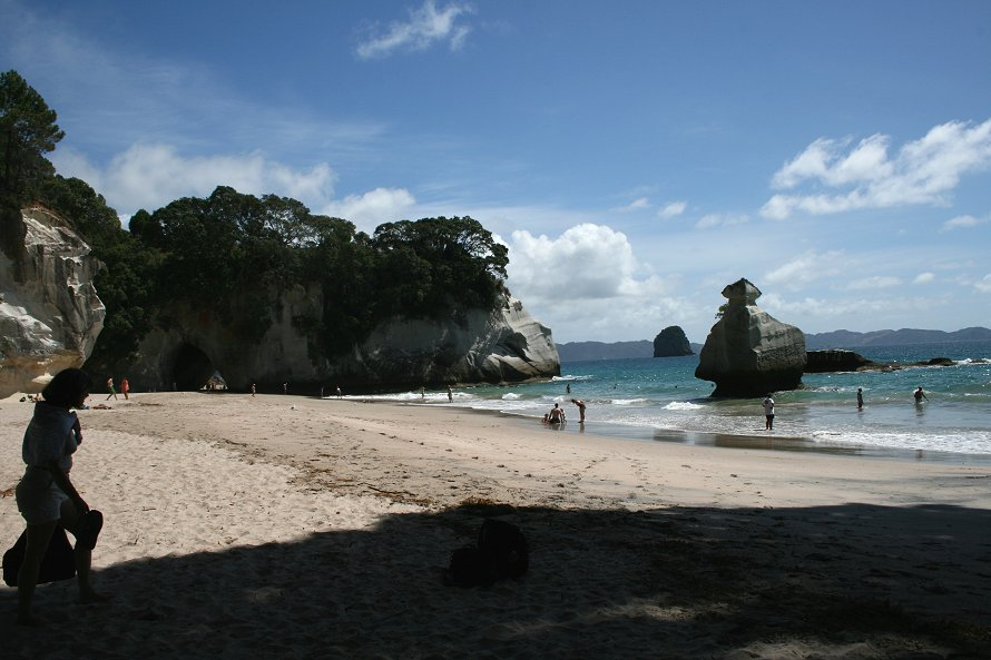 Cathy Amp Murray S Wedding Cathedral Cove New Zealand